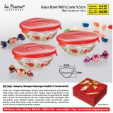 Glass Bowl With Cover 9.5cm   48 biji   hanya RM141.60